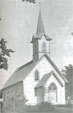 An old picture of Nora church
